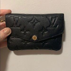 Louis Vuitton card holder key chain